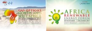 Le sommet « Options gaz : Afrique du Nord et Afrique de l'Ouest » et le « Forum Africain des Énergies Renouvelables » sont placés sous le haut patronage de sa Majesté le roi Mohammed VI du Maroc